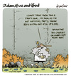 Cartoon: adam eve and god 32 (small) by mortimer tagged english,adam,eve,god,cartoon,comic,gag,mortimer,mortimeriadas,biblical,christian,original,sin,expulsion,paradise,eden,snake