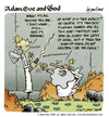 Cartoon: adam eve and god 35 (small) by mortimer tagged english,adam,eve,god,cartoon,comic,gag,mortimer,mortimeriadas,biblical,christian,original,sin,expulsion,paradise,eden,snake