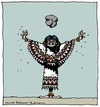 Cartoon: Shaman (small) by mortimer tagged mortimer,mortimeriadas,cartoon,honkatonka