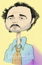 Cartoon: eg (small) by komikportre tagged famous,actor,turkish