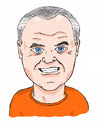 Cartoon: Hannibal Lecter - Anthony Hopkin (small) by perevilaro tagged lecter hopkins corderos