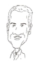 Cartoon: Neal McDonough (small) by perevilaro tagged neal mcdonough
