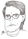 Cartoon: Stephen King (small) by perevilaro tagged stephen king writer