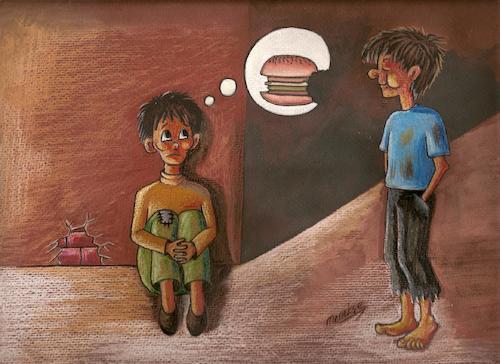 عکس کودکان گرسنه