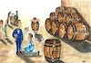 Cartoon: Wine World (small) by menekse cam tagged wine,world,spirito,di,vino,selected,twenty,best,cartoon,italy,tun,barrel