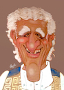 Cartoon: Caricatura de um amigo. (small) by Joe Bonfim tagged caricatura,caricature,portrait,charge