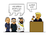 Cartoon: Trump Trusts (small) by Sven Raschke tagged donald,trump,dmg,kim,jong,un,putin,kashoggi,usa