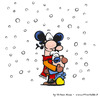 Cartoon: Snowing.. (small) by ettorebaldo tagged ettore,baldo,snow,xmas,white,cartoon,comic,strip