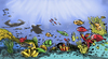 Cartoon: marine life in the philippines (small) by bennaccartoons tagged palawan philippines marine life