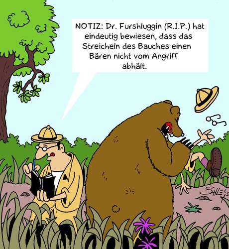 Cartoon: Beweis (medium) by Karsten tagged natur,tiere,forschung,wildtiere,naturforschung,umwelt,wissenschaft,bären,natur,tiere,forschung,wildtiere,naturforschung,umwelt,wissenschaft,bären