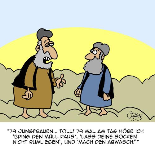 Islam Paradies Jungfrauen