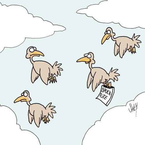 Fliegen Cartoon