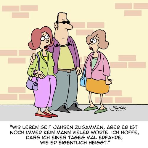 Kann er schon sprechen? By Karsten | Love Cartoon | TOONPOOL