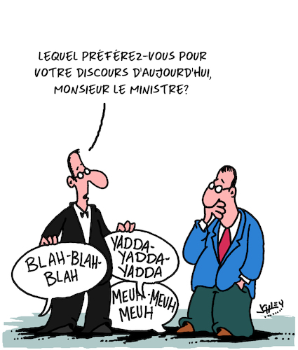 Cartoon: Le Discours (medium) by Karsten tagged politiciens,discourses,medias,credibilite,politique,politiciens,discourses,medias,credibilite,politique