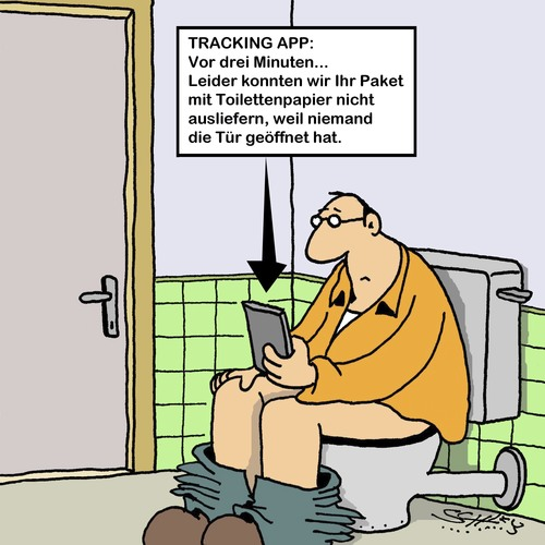 Cartoon: Nicht angetroffen... (medium) by Karsten tagged paketzustellung,shopping,online,handel,technik,gesellschaft,wirtschaft,business,sendungsverfolgung,apps,transport,online,shopping,paketzustellung,transport,apps,sendungsverfolgung,business,wirtschaft,gesellschaft,technik,handel