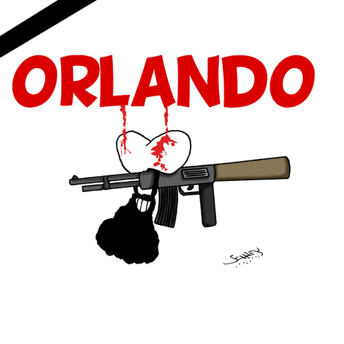 Cartoon: Orlando (medium) by Karsten tagged religionsfaschismus,waffen,islam,moslems,hass,sexualität,religion,terror,is,usa,sicherheit,demokratie,terror,religion,sexualität,hass,moslems,islam,waffen,religionsfaschismus,demokratie,sicherheit,usa,is