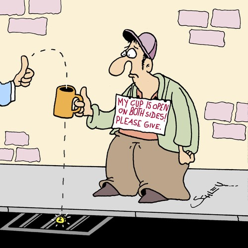 Cartoon: Please Help!! (medium) by Karsten tagged money,poverty,social,issues,society,business,economy,money,poverty,social,issues,society,business,economy