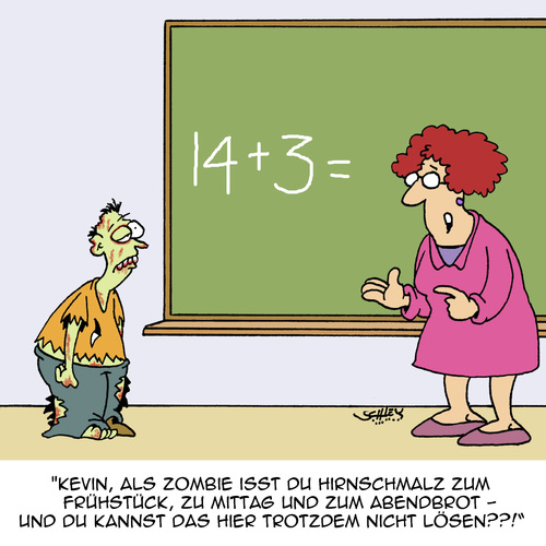 Schlecht in Mathe...