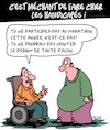 Cartoon: Blagues sur les handicapes (small) by Karsten tagged handicapes,sport,blague,societe,sante