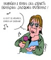 Cartoon: Couvre-Feu (small) by Karsten tagged musique,covid19,france,sante,societe,charts,jacques,dutronc,politique