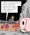 Cartoon: Deep Space (small) by Karsten tagged space,travel,science,aliens,planets,astronauts,technology,nutrition