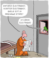 Cartoon: Electrique (small) by Karsten tagged trafic,energie,climat,prisons,justice,captives,sentence,de,mort