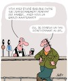 Cartoon: Environnement (small) by Karsten tagged etudes,universites,education,emplois,chauffeurs,pubs,bars