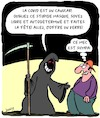 Cartoon: Faites la Fete! (small) by Karsten tagged covid19,sante,education,systeme,de,politique,confinement,economie,emplois
