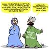 Cartoon: Glaube (small) by Karsten tagged terror,religion,faschismus,chauvinismus,terroristen,is,islam,frauen