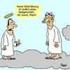 Cartoon: Heiligenschein (small) by Karsten tagged religion,mode,männer,mann,himmel,engel,tod