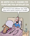 Cartoon: Johannes der Täufer (small) by Karsten tagged religion,mythen,legenden,christentum,judentum,johannes,salome,bibel,geschichte