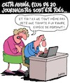 Cartoon: Journalistes toues (small) by Karsten tagged journalistes,medias,liberte,de,la,presse,crime,politique,societe