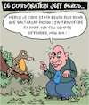 Cartoon: Le conspiration (small) by Karsten tagged amazon,covid19,jeff,bezos,economie,jobs,commerce,societe