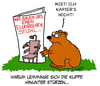 Cartoon: Lemminge (small) by Karsten tagged natur,tiere,wildnis,umwelt,wildtiere,lemminge
