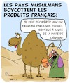 Cartoon: Produits Francais (small) by Karsten tagged economie,commerce,politique,religion,islam,industrie,caricatures,medias,liberte,de,la,presse