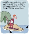 Cartoon: Record du Monde!! (small) by Karsten tagged saut,ski,sports,records,vainqueurs,hiver,medias
