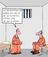 Cartoon: Resolutions du Nouvel An (small) by Karsten tagged resolutions,crime,prison,justice,lois