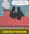 Cartoon: Romantique (small) by Karsten tagged rendezvous,amour,dating,relations,mort,femmes,hommes