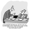 Cartoon: RULES (small) by Karsten Schley tagged employees,employers,business,jobs,economy