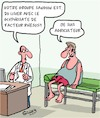 Cartoon: Sanguin (small) by Karsten tagged medecins,patients,sanguin,glyphosate,lisier,agriculteurs,eau,pollution,politique
