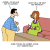 Cartoon: Serieux (small) by Karsten tagged amour,hommes,femmes,mariage,relation,separation