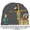 Cartoon: Täglich Brot (small) by Karsten tagged religion,glaube,kirche,jesus,katholizismus,bibel,beten,familie
