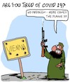 Cartoon: Vienna (small) by Karsten Schley tagged terrorism,death,vienna,religion,muslims,daech,social,issues,crime,politics,immigration