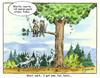 Cartoon: enemy jokes (small) by Egero tagged egero