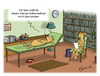 Cartoon: typisches Hundeproblem (small) by Egero tagged hund psychiater