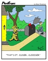 Cartoon: MINDFRAME (small) by Brian Ponshock tagged mailman,dog