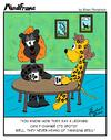 Cartoon: MINDFRAME (small) by Brian Ponshock tagged leopard,tanning,bed