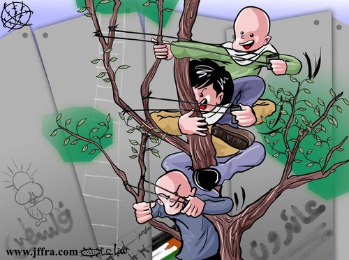 Cartoon: Freedom... (medium) by sabaaneh tagged palestinian