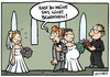 Cartoon: sms (small) by Steffen Gumpert tagged sms,mobile,handy,marriage,heirat,schwanger,hochzeit,kommuninkation
