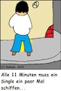 Cartoon: Alle 11 Minuten (small) by Amokkritzler tagged werbeparodie